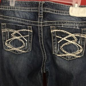 Denim jeans made by Silver Jeans Co.